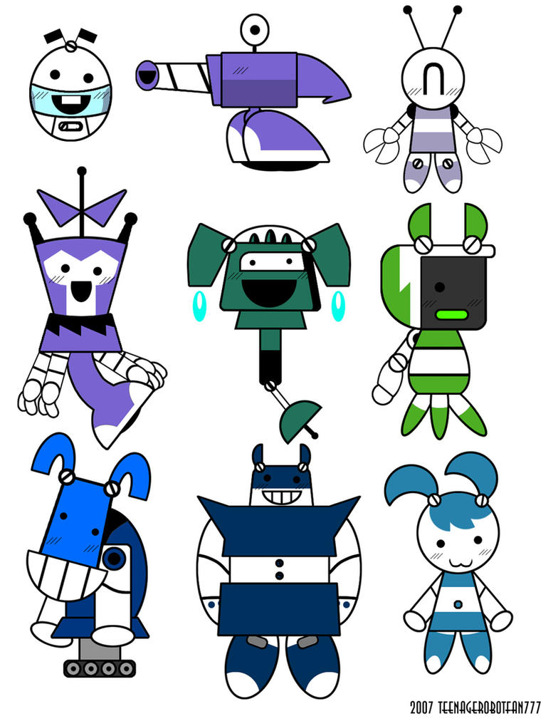 Japanese XJ's by teenagerobotfan777