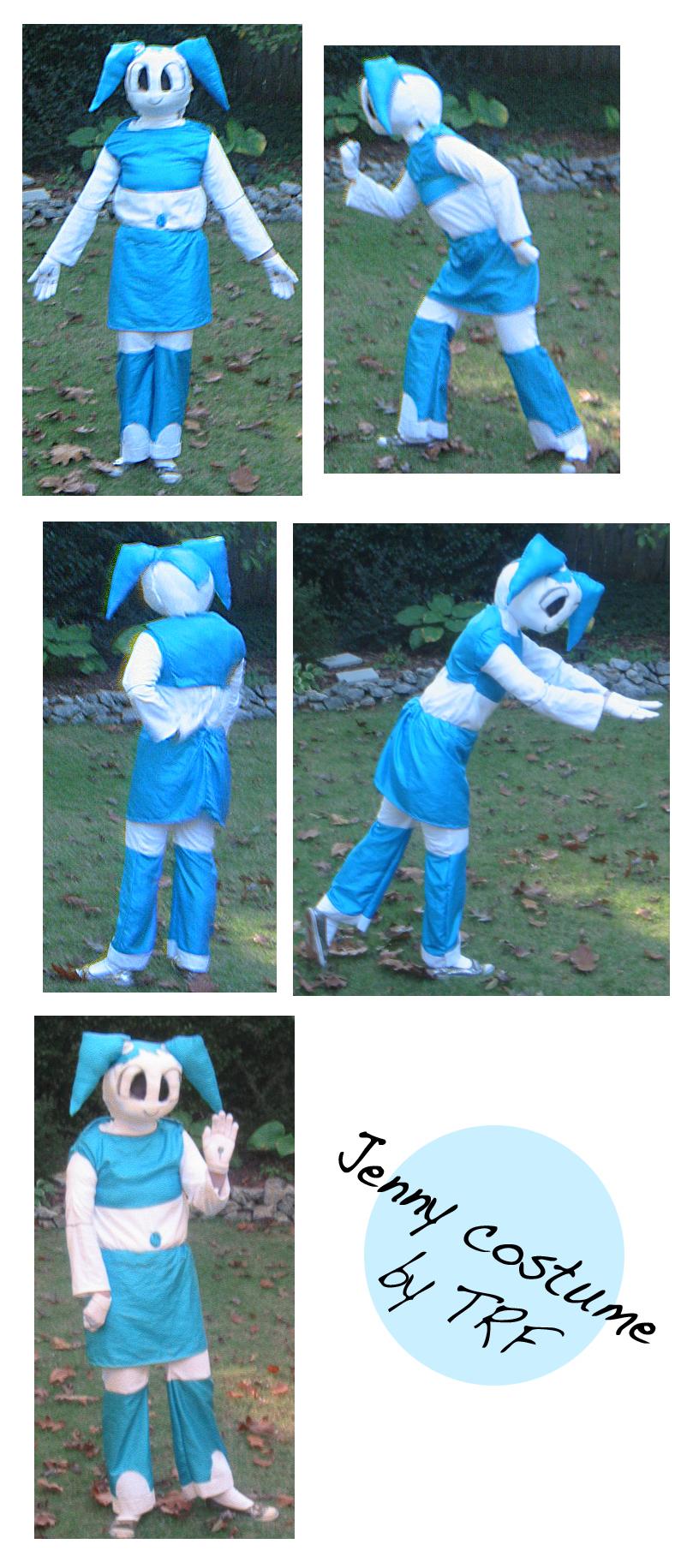 Jenny costume 2.0 by teenagerobotfan777