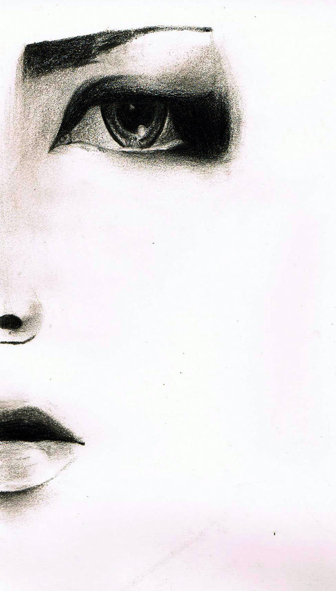 Minimal Portrait (Ruki) by FreeSpiritArtSoul