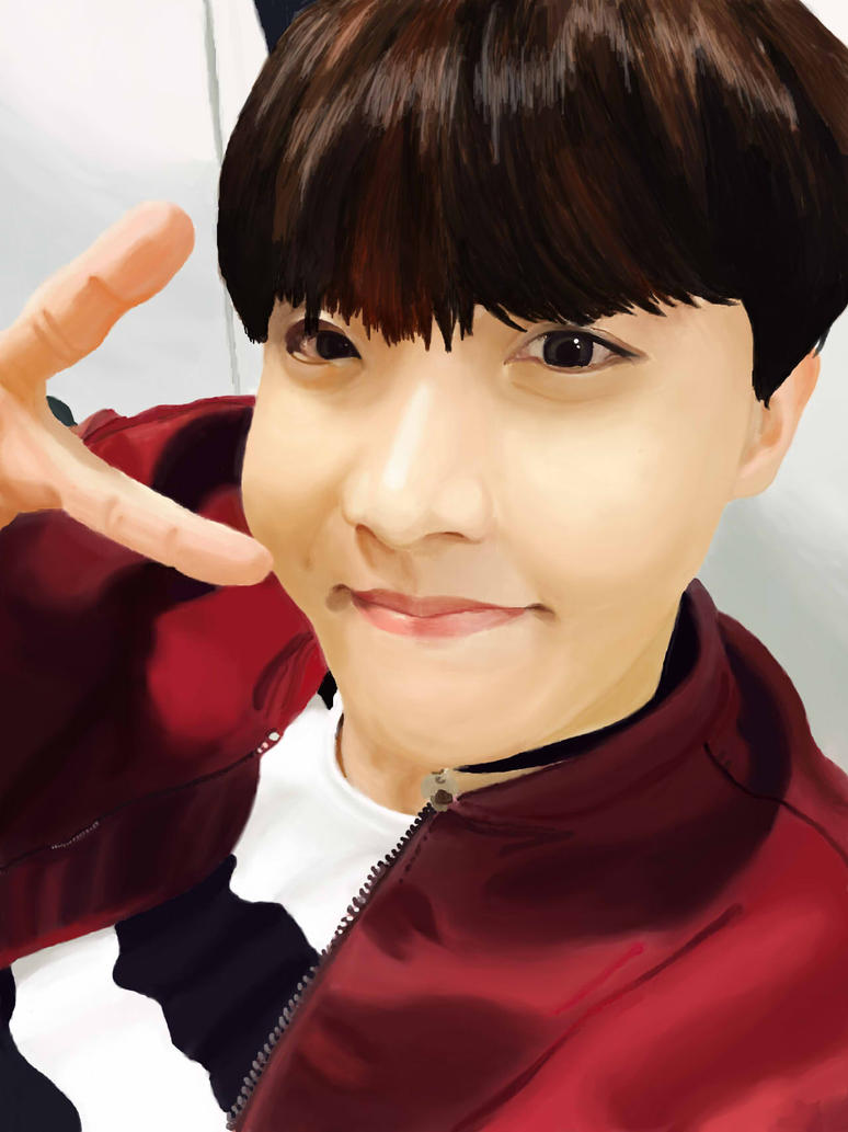 BTS - J-Hope by FreeSpiritArtSoul