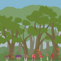 Background Forest WIP