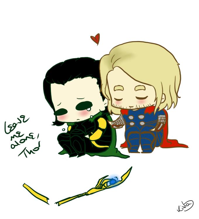 Thor Loki chibis by Kerryopia on DeviantArt
