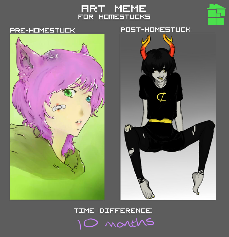 Pre-Post Homestuck Meme by Kerryopia