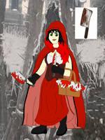 Batman Oc Villain #16: Red Riding Hood(Digital) by D-Field22