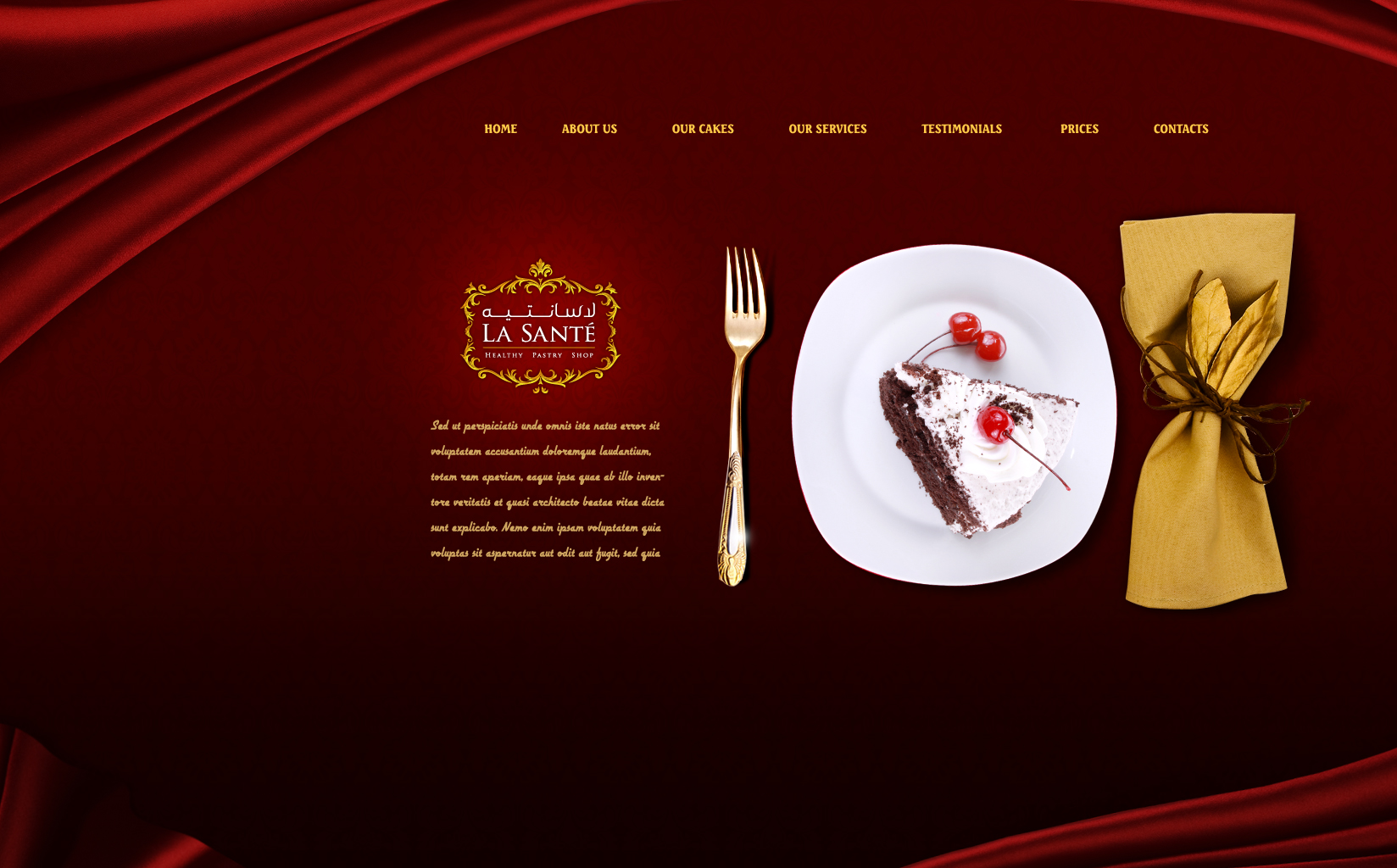 La Sante Web site Option 1 by mohamed-amin