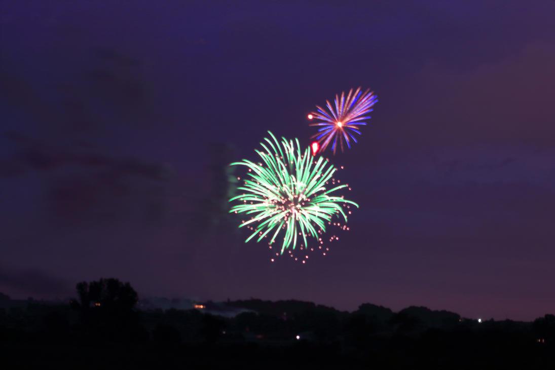 Fireworks, Gretna, NE by WxKnowltey