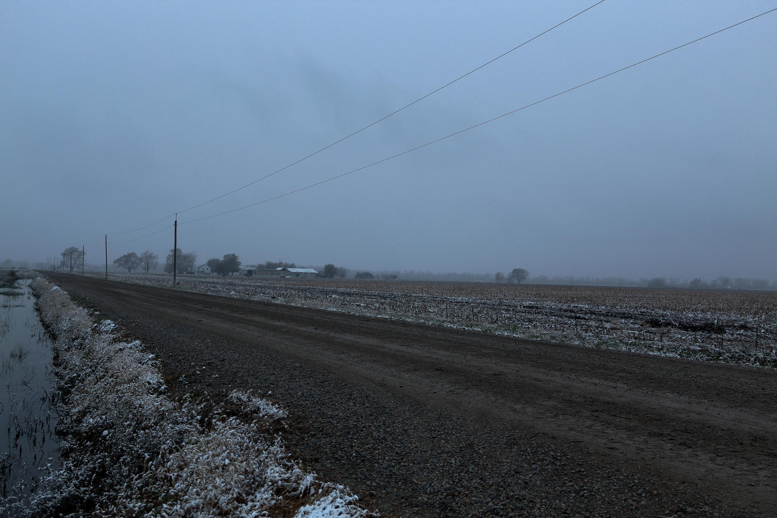 2018-11-08 - Snow - Percival, IA by WxKnowltey