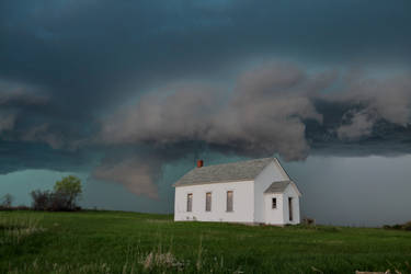 05-05-2019 - Abandoned Building and Wall Cloud