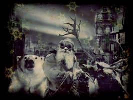 Steampunk Santa by thor1971