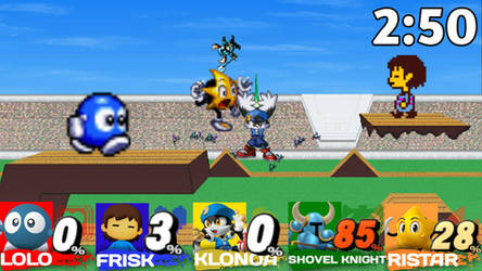 My take on Smash Bros Switch 2