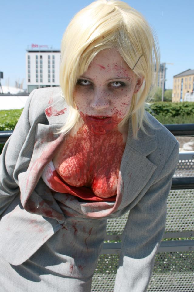 Jessie McCarney - Dead Rising by black-ravens-blood