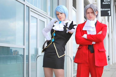 Miles and Franziska together by black-ravens-blood