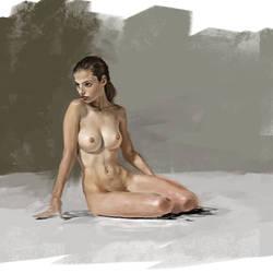 Figure study by Aroundkp