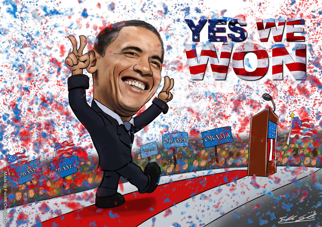 Barack Obama Won! by Oregard