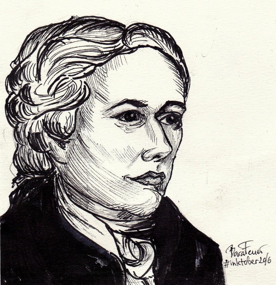 Alexander Hamilton by Bara-Feuer
