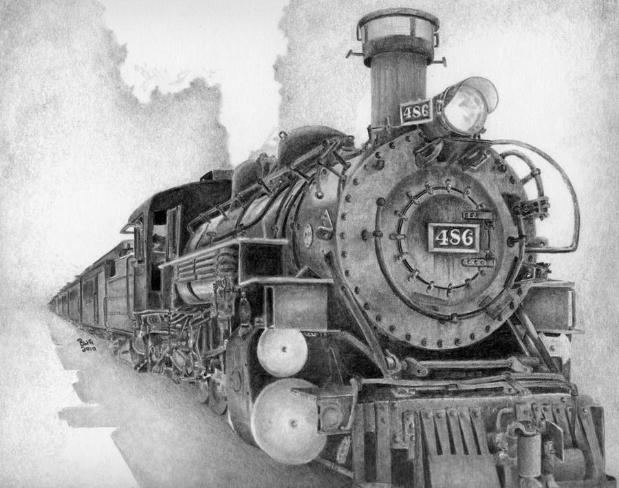 The ol' steam engine by GrayWolfcg on DeviantArt