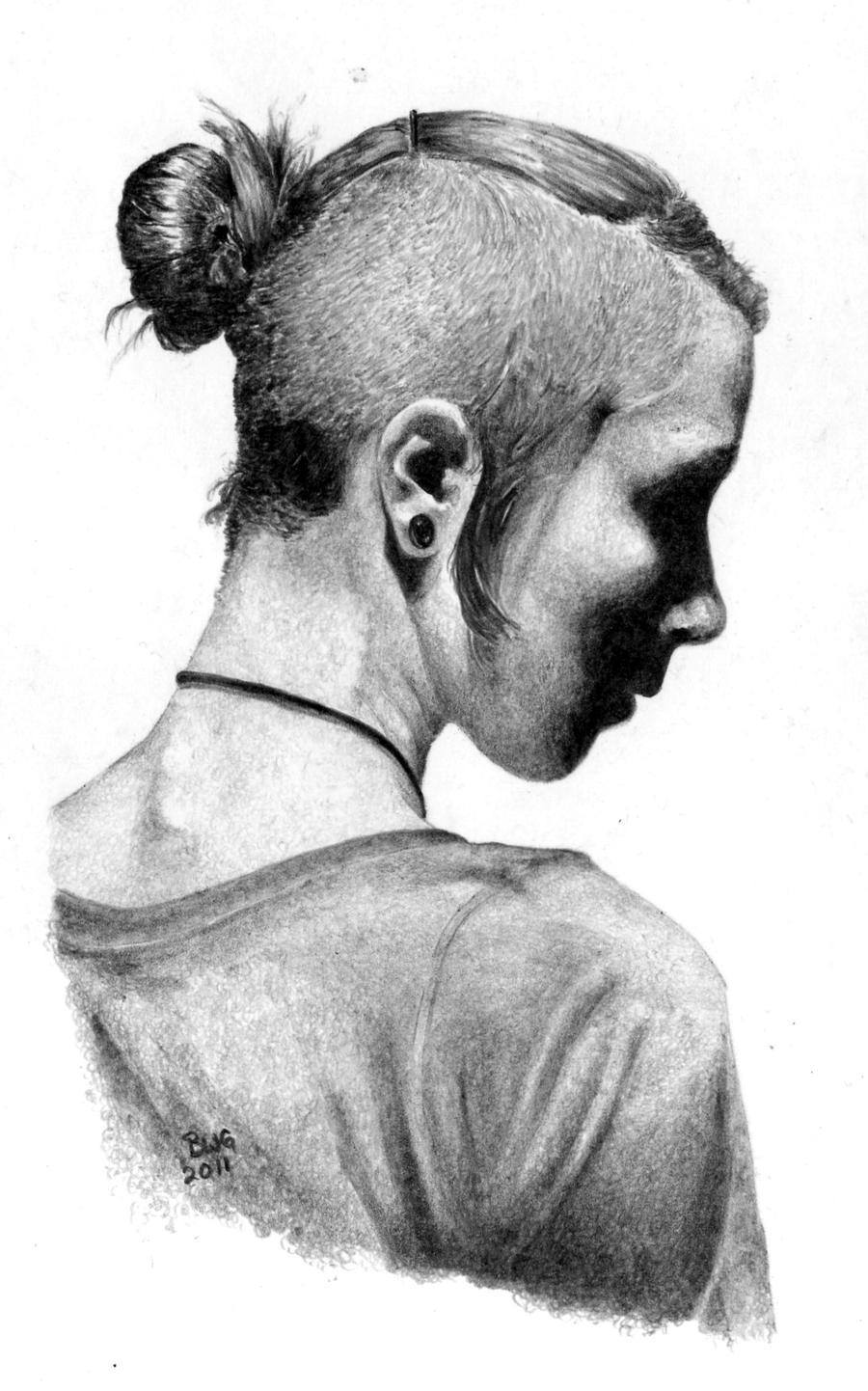 Corneredring id portrait by GrayWolfcg