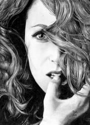 Gillian Anderson by GrayWolfcg