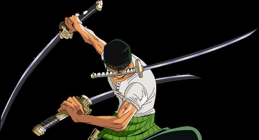 zoro roronoa by h2o fr Top 12 Swordsman in Anime