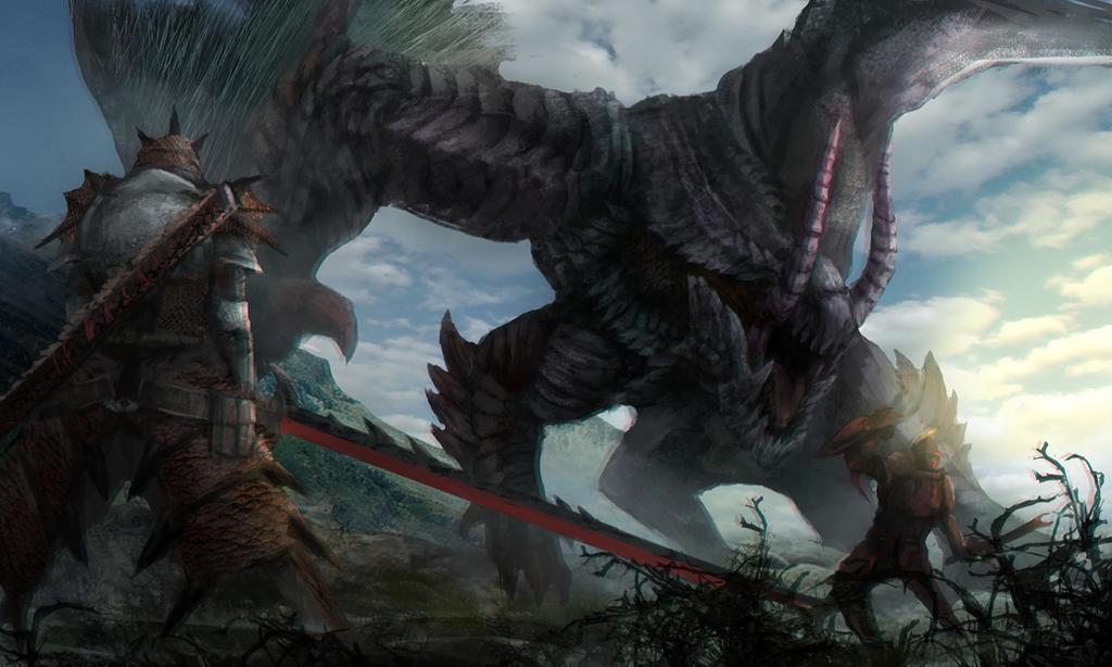 monster gore magala by johnchchiu on deviantart
