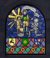 Brienne, King Renly, Ser Loras by Kellward