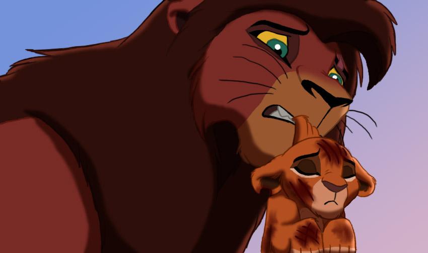 El rey leon 4:Theere Stars Attacked_by_thecartooner1996-d4qs1ku