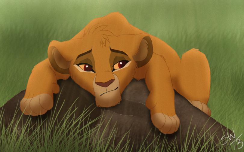 El rey leon 4:Theere Stars Chillin__by_thecartooner1996-d643500