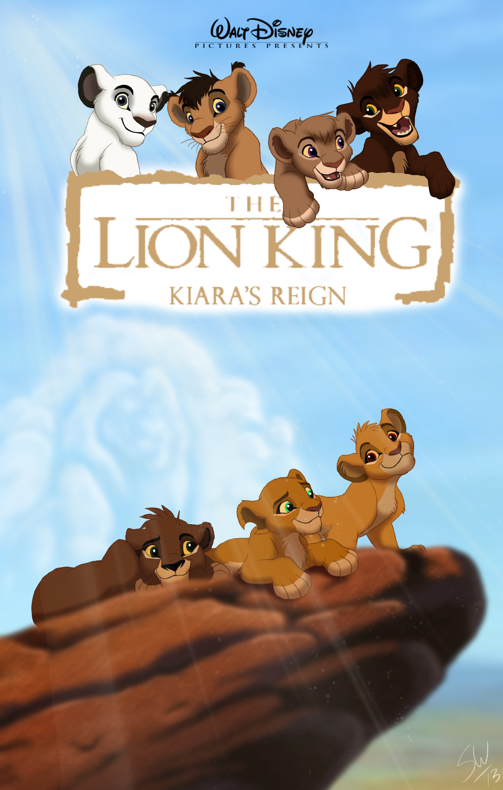 «Смотреть В Онлайн В Хорошем Качестве Король Лев 2» — 2004