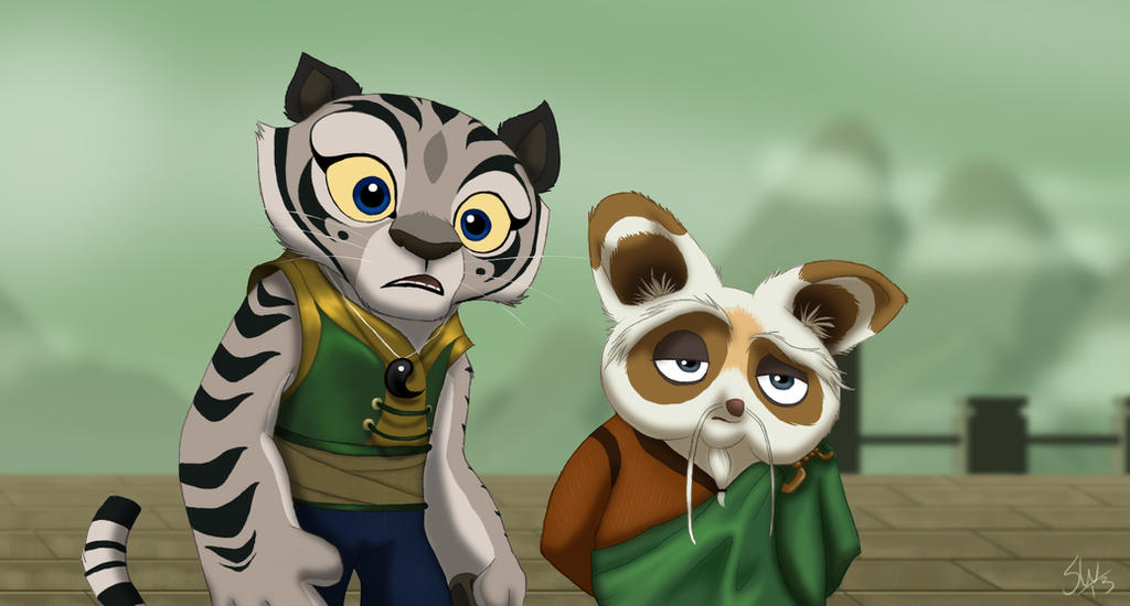 Ling and shifu by tc 96 on deviantart - Kung fu panda shifu ...