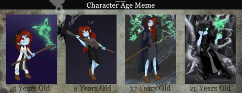 Sadie Skellington - age meme by TC-96