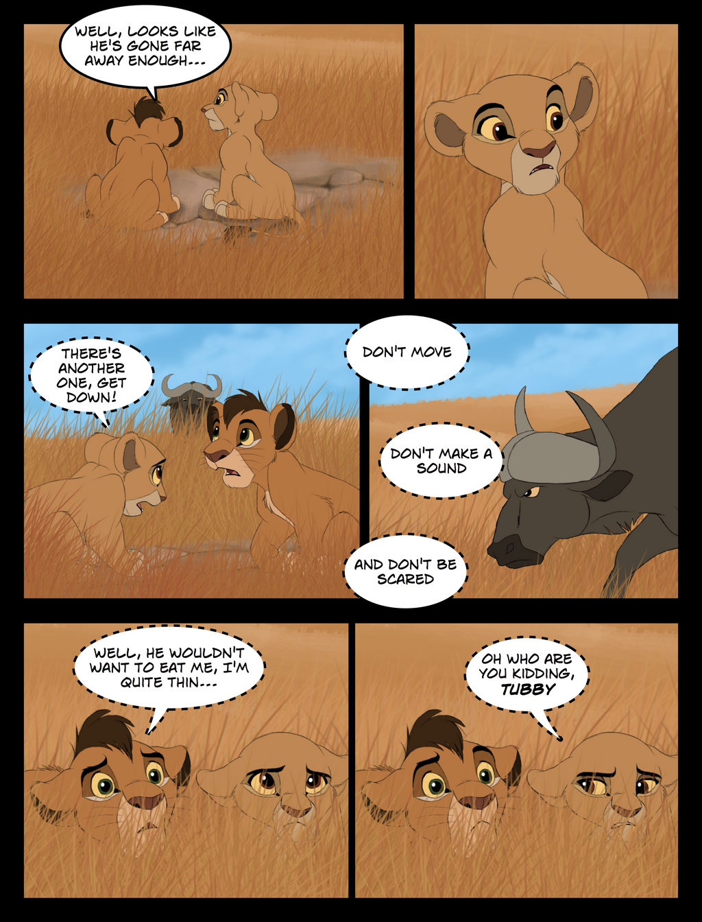 The Hunting Lesson Page 6 by TC-96