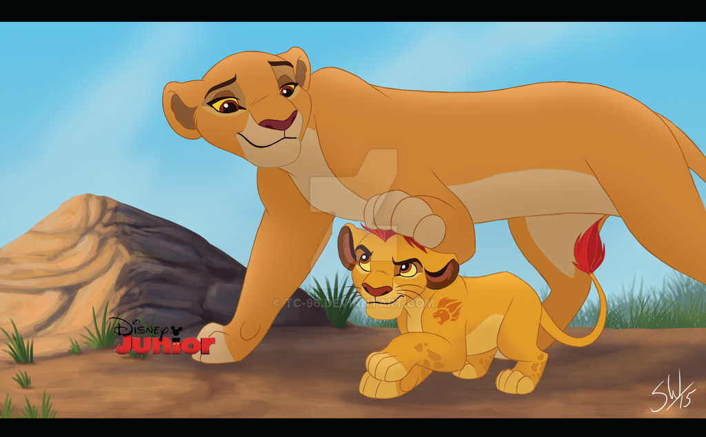 Kiara and kion - screenshot by Takadk on DeviantArt