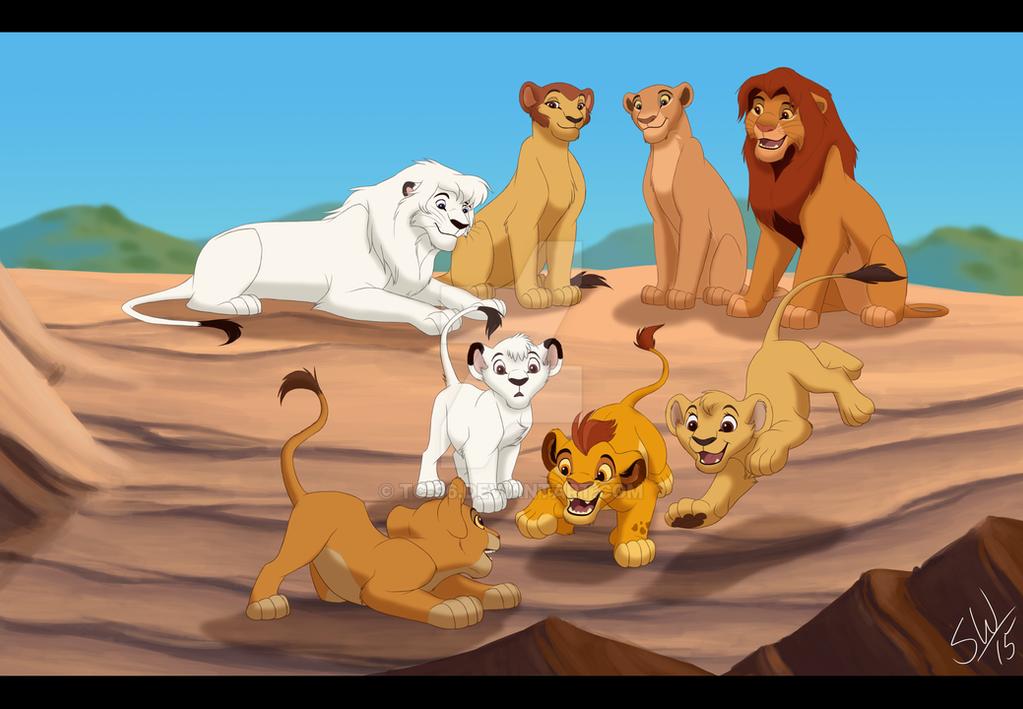 ¿Cuál es tu personaje favorito de la serie/película La Guardia del León? Two_kings_by_tc_96-d96qip5