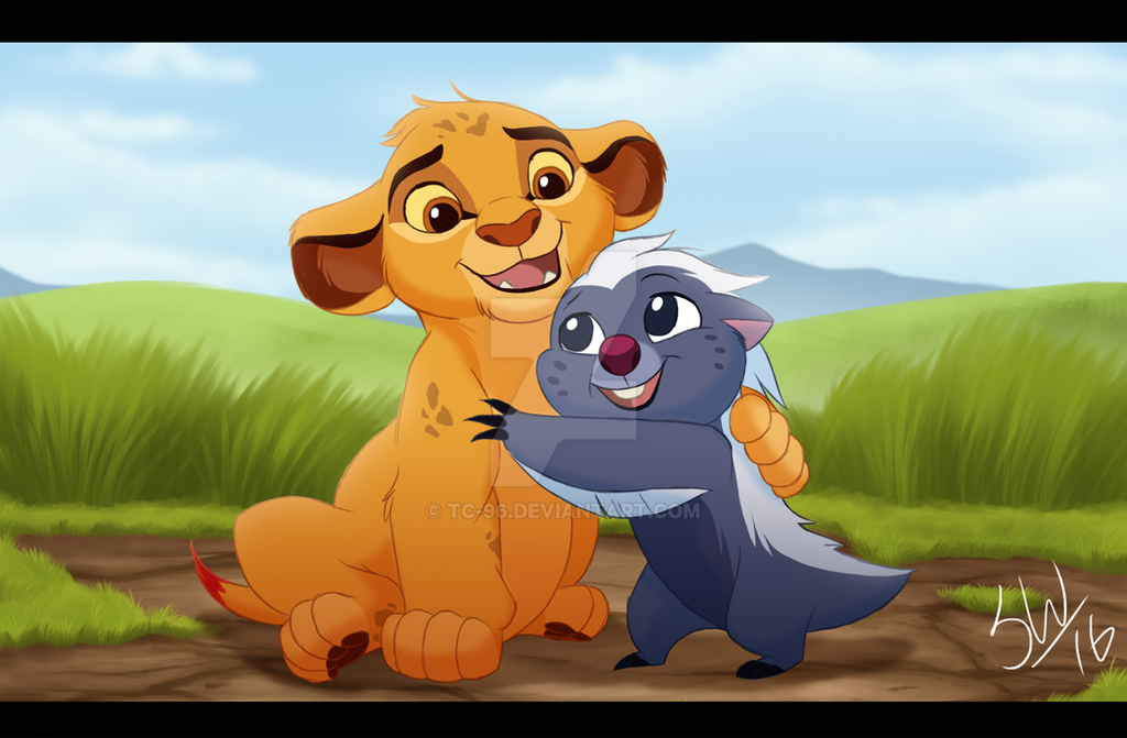 Brothers forever by tc 96 on deviantart - Kion le roi lion ...