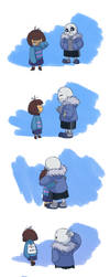 Undertale - The Legendary Hug Master by TC-96