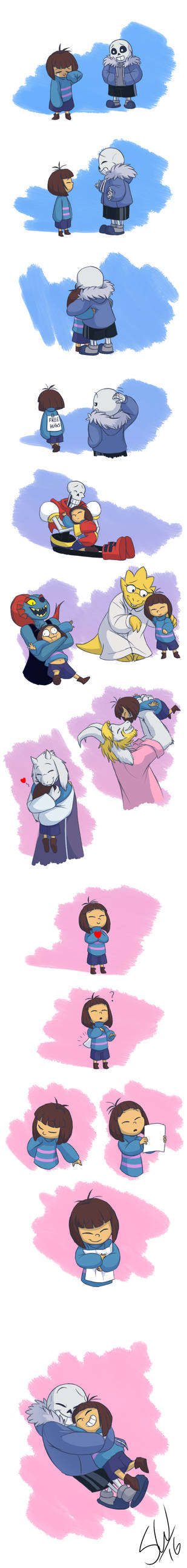 Undertale - The Legendary Hug Master