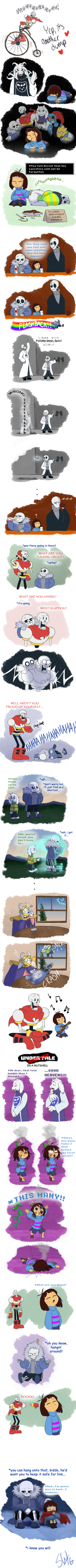 Undertale - Another Dump by TC-96