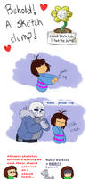 Undertale - The Dumpening by TC-96