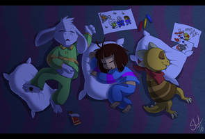 Undertale - Sleepyheads by TC-96