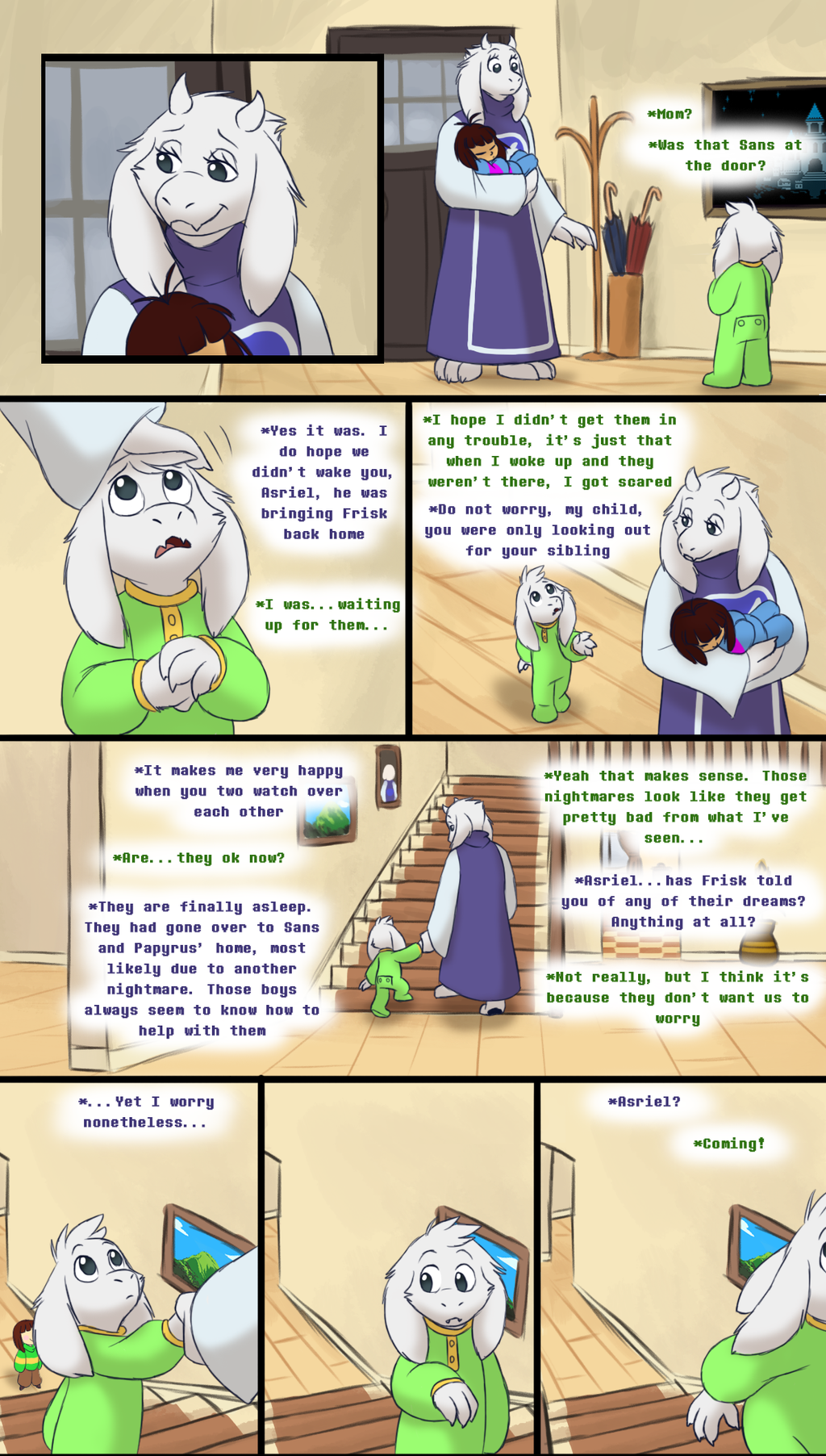 Endertale (prologue) - Page 3 by TC-96