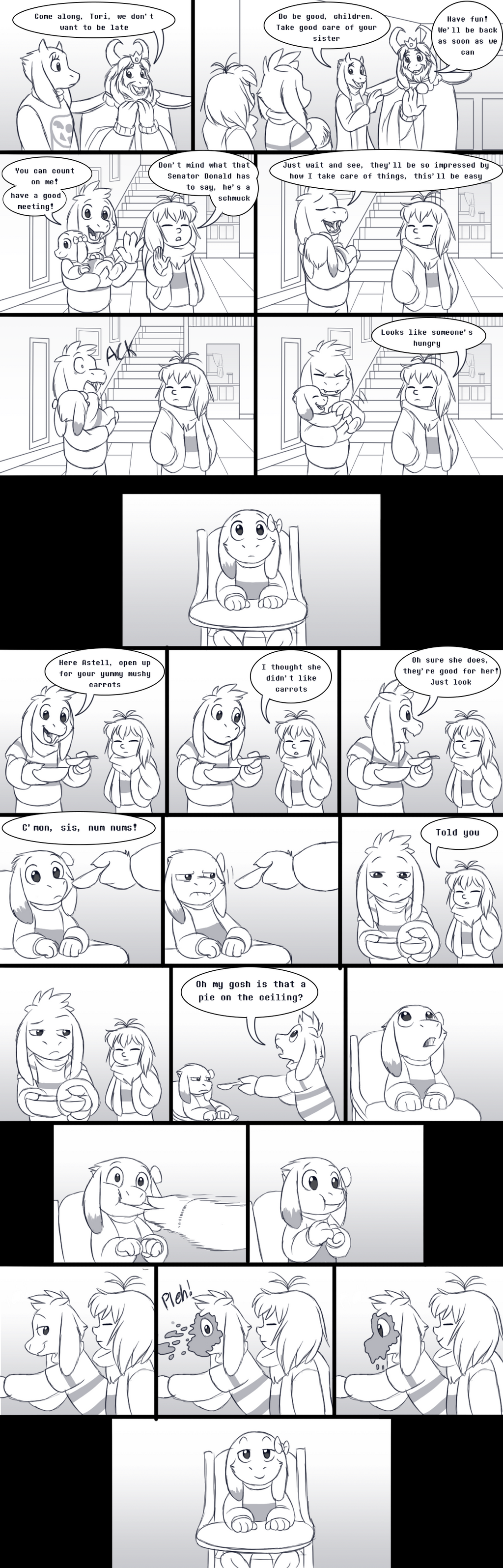 Siblingtale - Babysitting - Page 2 by TC-96