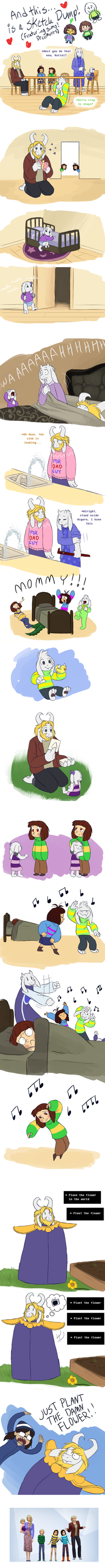 Undertale - is it really a sketchdump? by TC-96