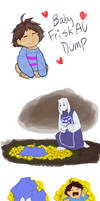 Undertale - Baby Frisk sketchdump by TC-96