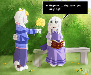 Undertale - Flowers for you