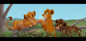The Lion King - Gloomy sister