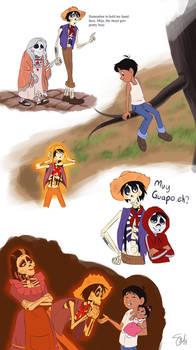 Coco - doodle dump by TC-96