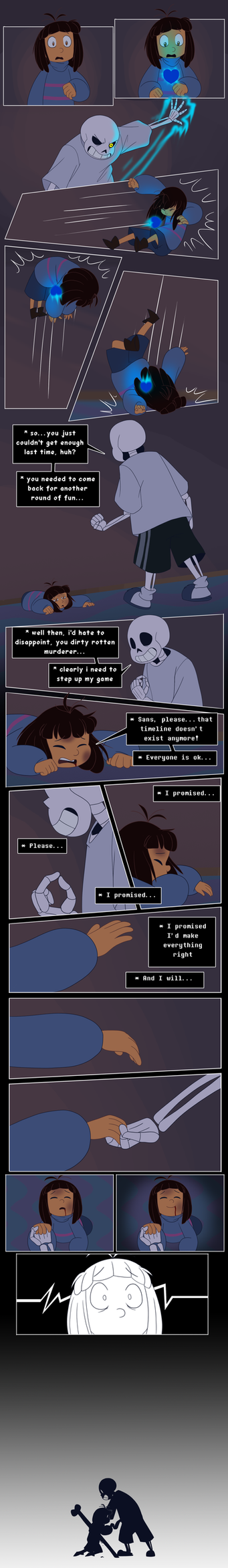 Undertale - Consequences - 3 of 4 by TC-96
