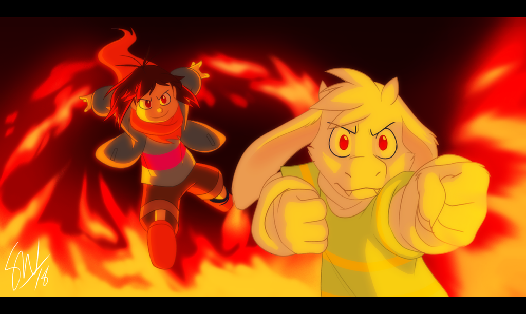 Undertale - Super Sibling Squad Special Attack! by TC-96