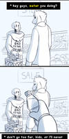 Undertale - Taking your Sans out on Errands