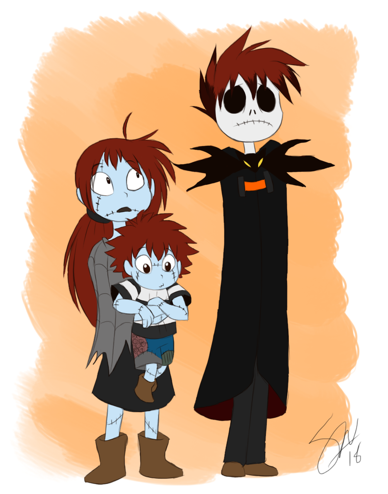The Nightmare Before Christmas - those kids by TC-96 on DeviantArt